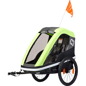 Hamax Avenida One Bike Trailer lime